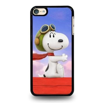 snoopy dog ipod touch 6 case cover  number 1