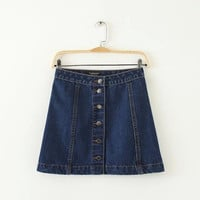Women's Fashion Denim Skirt [5013405252]