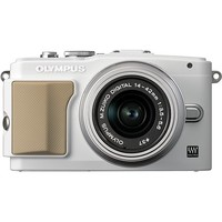 Olympus - E-PL5 16.1-Megapixel Digital Compact System Camera with 14-42mm f/3.5-5.6 Lens - White