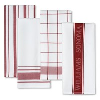Williams-Sonoma Assorted Kitchen Towels, Set of 4