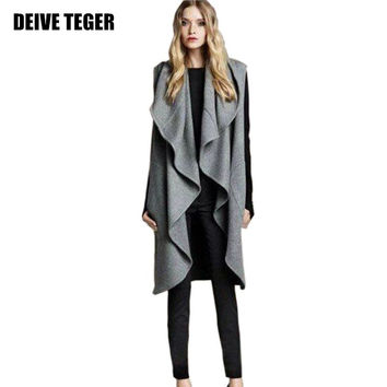DEIVE TEGER Hot Sale Women's Fashion Wool Blend Coat Ladies Cape/Shawl ladies poncho wrap scarves coat BY888