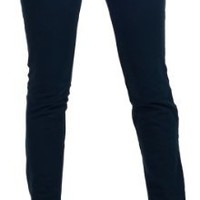 Womens Casual Cotton Stretchy Slim Fit Denim Low Rise Long Skinny Jeans