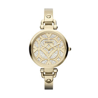 FOSSIL® Watch Collections Georgia Watches:Women Georgia Stainless Steel Watch - Gold-Tone ES3293