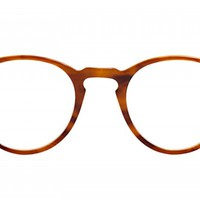 Oliver Peoples | O'Malley Brown Tortoise Cream Optical Eyewear by Oliver Peoples