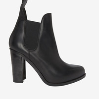 RAG & BONE STANTON HIGH VAMP BOOTIE: BLACK