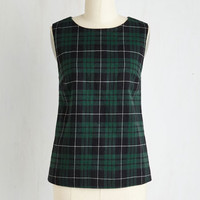 Mid-length Sleeveless Old Cottage Try Top