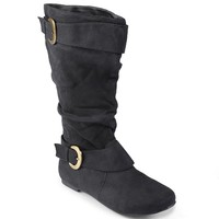 Journee Collection Shelley Wide Calf Boots - Women