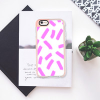 Purple Strokes - Brightly Spring iPhone 6s case by Allyson Johnson | Casetify