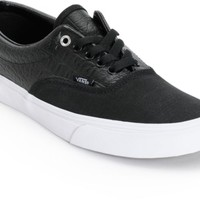 Vans Era Croc Leather Skate Shoes
