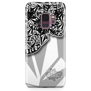 Volcom Inc Apparel And Clothing Stickerbomb Samsung Galaxy S9 Case | Casefantasy