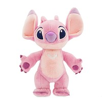 Disney Lilo And Stitch Angel Standing Small Plush Toy New with Tags