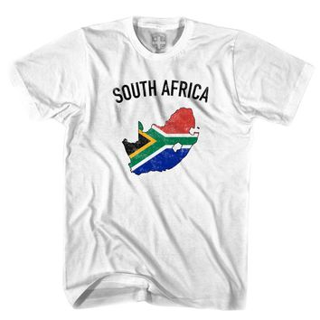 South Africa Flag & Country T-shirt