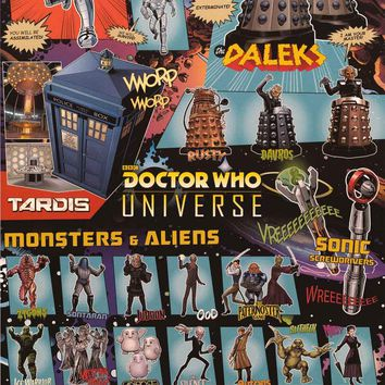 Doctor Who Universe Poster 24x36