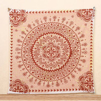 Indian Mandala Tapestry Beach Towel Yoga Mat Blanket Table Cloth Wall Hanging Tapestries Boho Bedspread Mandala Tapestry Beach