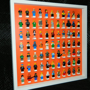 Display case for LEGO minifigure,lego minifig,lego starwars,lego Display shelve,Minifigure shelves