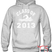 Class Of 2013 Swimming hoodie