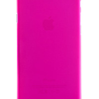 Pink Frosted Transparent Soft Case for iPhone 6