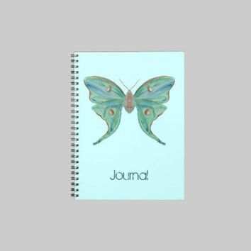 Luna Moth Journal from Zazzle.com