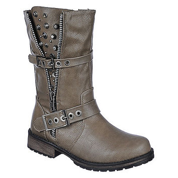 Buy Breckelle's Womens Rocker-17 low heel ankle riding boots | Shiekhshoes