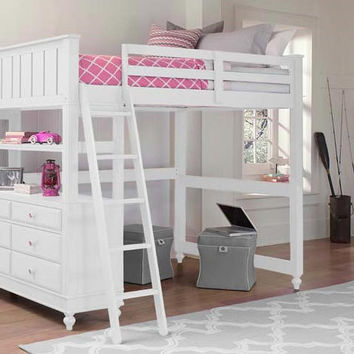 Park Place Full Size Study Loft Bed