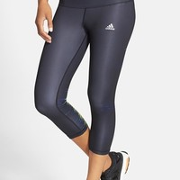 Women's adidas 'Performer' Mid-Rise Three Quarter Tights,