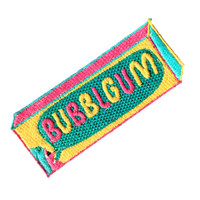 80s Bubblgum Iron On Patch By Jess Warby