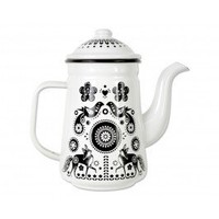 Folklore Enamel Coffee Pot