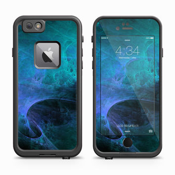 Blue Molecular Galaxy Skin for the Apple iPhone LifeProof Fre Case
