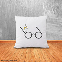 Harry Potter pillow-literary pillow-Potter cover pillow-home decor-nursery pillow-Harry Potter cushion-book pillow-by NATURA PICTA-NPCP051
