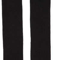 Black Reebok Edition Lurex Over-the-Knee Socks
