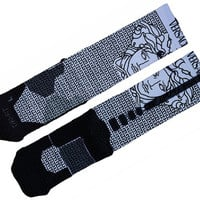 Versace Custom Nike Elite Socks