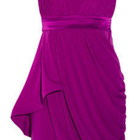 Phoebe Couture by Kay Unger Strapless jersey dress - 70% Off Now at THE OUTNET