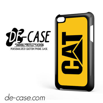 Yellow Caterpillar Logo DEAL-12123 Apple Phonecase Cover For Ipod Touch 4