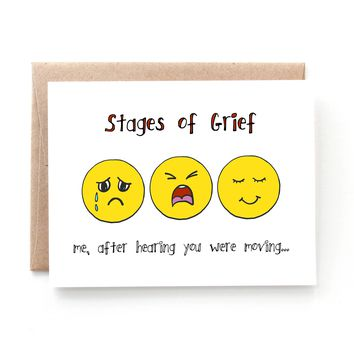 Stages of Greif Moving Card