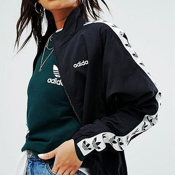 adidas Originals Zip Front Jacket With Taping