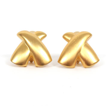 Fab 90s Gold Clip Ons