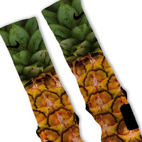 Pineapple Pina Colada Customized Nike Elite Socks Fast Shipping!