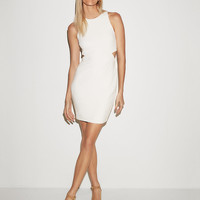 Side Cut-Out Sheath Dress