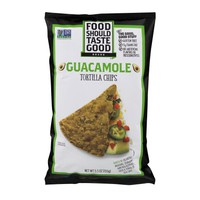 Food Should Taste Good® Tortilla Chips Gluten Free non-GMO Guacamole 5.5 oz Bag - Walmart.com