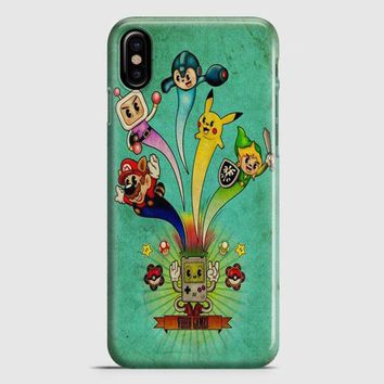 Nintendo Video Game Art iPhone X Case | casescraft
