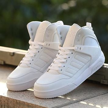 ADIDAS Neo Woman Men High-Top Fashion Sneakers Sport Shoes