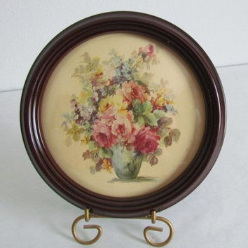 Vintage Floral Gallery Wall Art