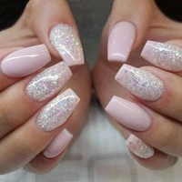 600 Pcs Fashion Plastic Fake Nails Press On Girls Finger Beauty False Nail Nail Art Tips Full Cover false french nail art tips