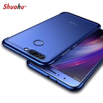 Shuohu Ultra Thin Soft Phone Cases for Huawei P10 Plus Honor 9 V9 Mate 9 Case Cover for Huawei P10 P9 P8 Lite Case Silicon Funda