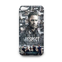FAST AND FURIOUS 7 Paul Walker Memoriam iPod 4 5 Touch Case Cover