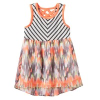 Rare Editions Tribal Chevron Dress - Baby Girl, Size: