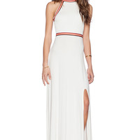 Lovers + Friends Sienna Maxi Dress in Ivory