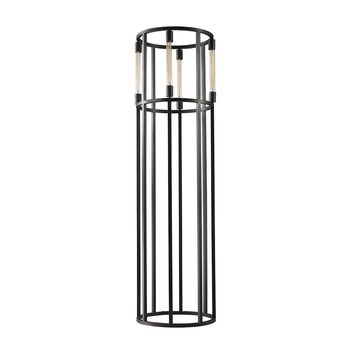 Tube 4 Light Cylinder Floor Lamp