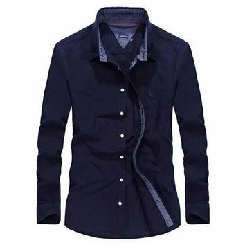 Autumn Long Sleeve Outdoor Shirts for Men