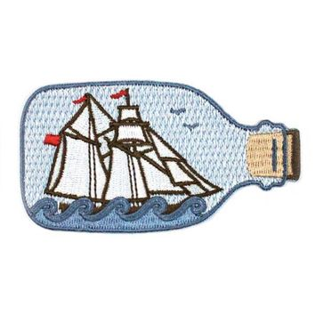 Ship In A Bottle Patch